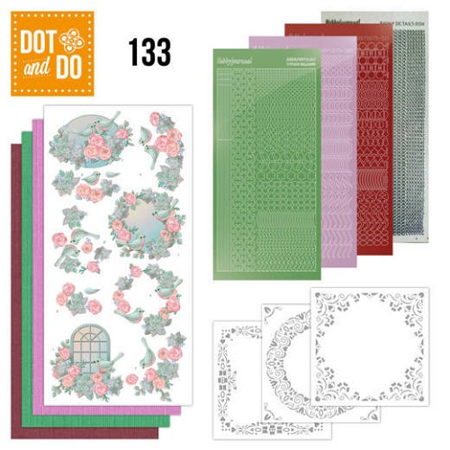 Dot & Do Hobbydots Pakket - birds and roses