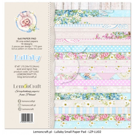 Lemon Craft Paper Pad - Lullaby