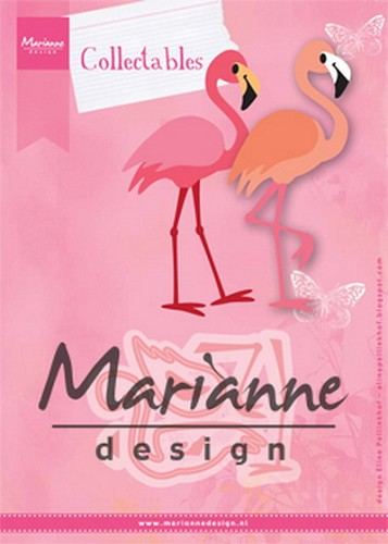 Collectables Marianne Design - Eline`s Flamingo