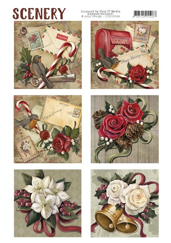 Stansvel Scenery - christmas roses
