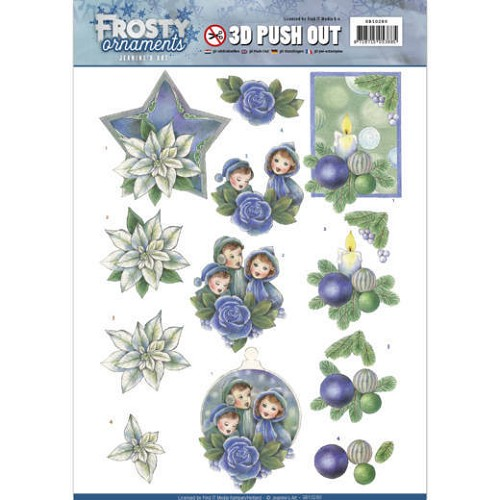 Stansvel Jeanine`s Art - Frosty Ornaments SB10280