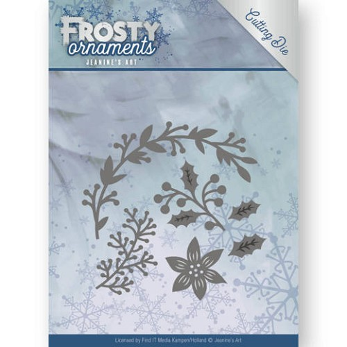 Jeanine`s Art Stans - Frosty Ornaments - christmas branches