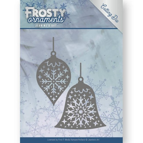 Jeanine`s Art Stans - Frosty Ornaments - christmas baubles