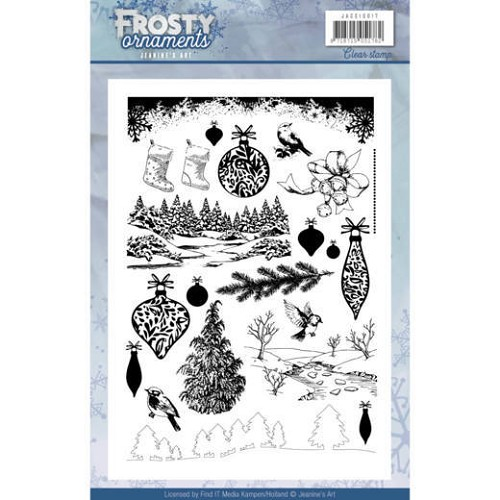 Clearstamps Jeanine`s Art - Frosty Ornaments