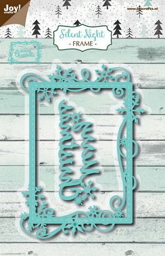 Joy Stencil - Silent Night - frame