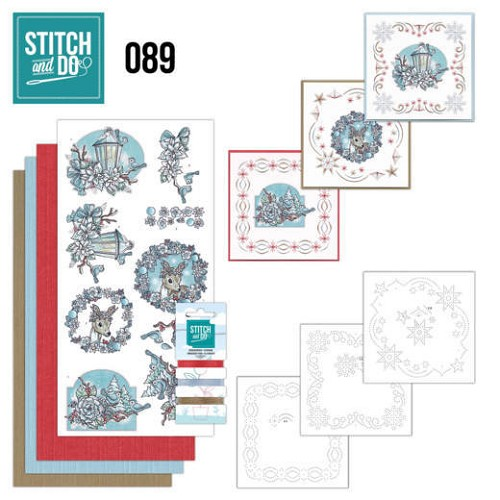 Stitch and Do Pakket - christmas dreams