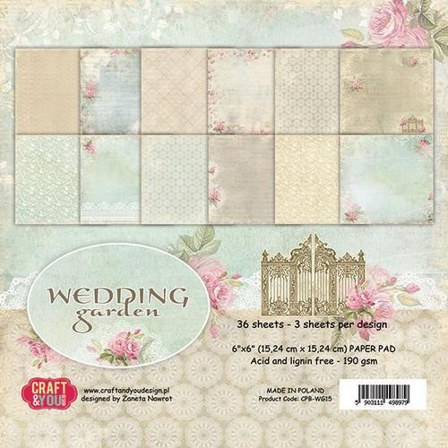 Paper Pad Craft & You - Wedding Garden