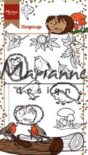 Clearstamps Marianne Design - hedgehogs