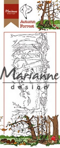 Clearstamp Marianne Design - Autumn Forest