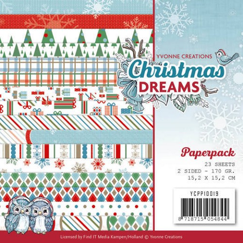 Paper Pack Yvonne Creations - Christmas Dreams