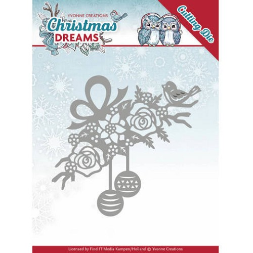 Yvonne Creations Stans - Christmas Dreams - bauble ornament