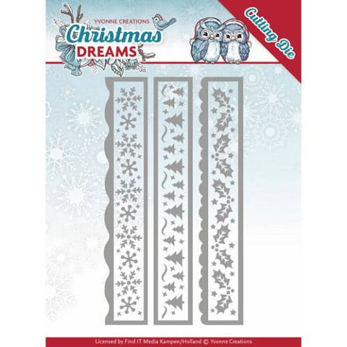 Yvonne Creations Stans - Christmas Dreams - christmas borders