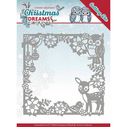 Yvonne Creations Stans - Christmas Dreams - christmas animal frame