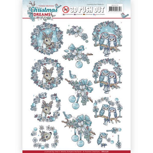 Stansvel Yvonne Creations - Christmas Dreams SB10276