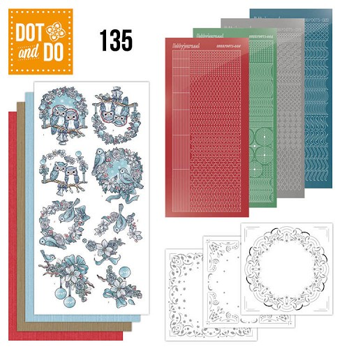 Dot & Do Hobbydots Pakket - christmas dreams