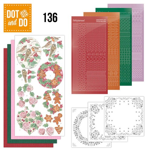 Dot & Do Hobbydots Pakket - christmas florals