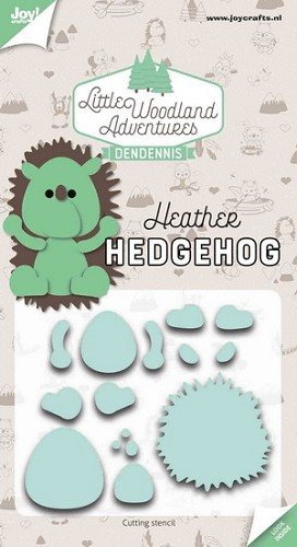 Joy Stencil - DenDennis Little Woodland Adventures - Heather Hedgehog