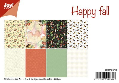 Joy Paper Pack - Happy Fall