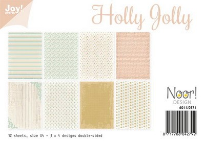 Joy Paper Pack - Holly Jolly