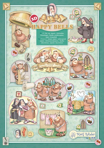 Marij Rahder 3d boek - Happy Bells