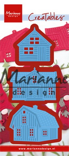 Creatables Marianne Design - scandinavian houses