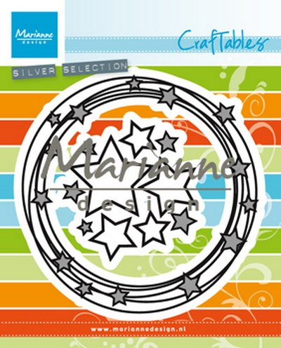 Craftables Marianne Design - circle & stars