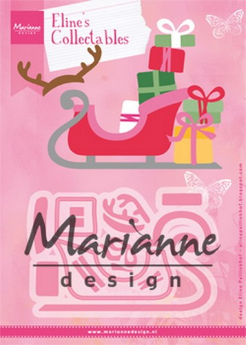 Collectables Marianne Design - Eline`s sleigh
