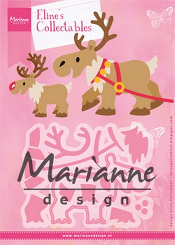 Collectables Marianne Design - Eline`s reindeer