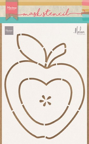 Marianne Design Craft Stencil - By Marleen - apple