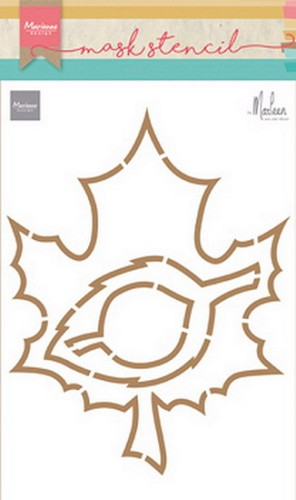 Marianne Design Craft Stencil - By Marleen - leaves