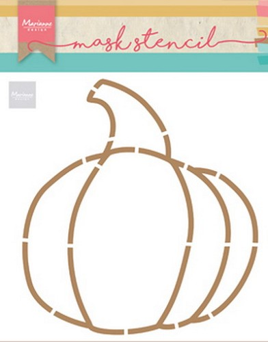 Marianne Design Craft Stencil - By Marleen - pumpkin