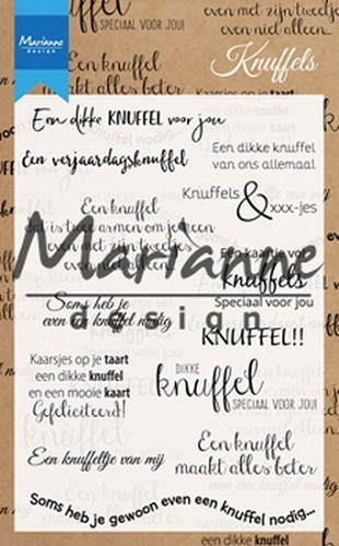Clearstamps Marianne Design - knuffels