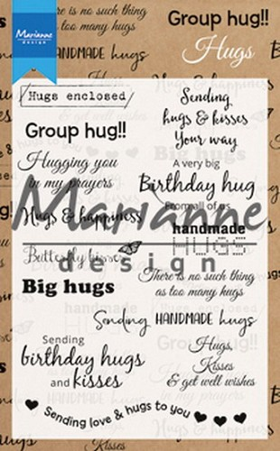 Clearstamps Marianne Design - hugs