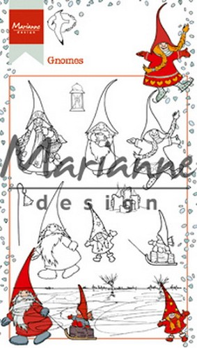 Clearstamps Marianne Design - Hetty`s gnomes