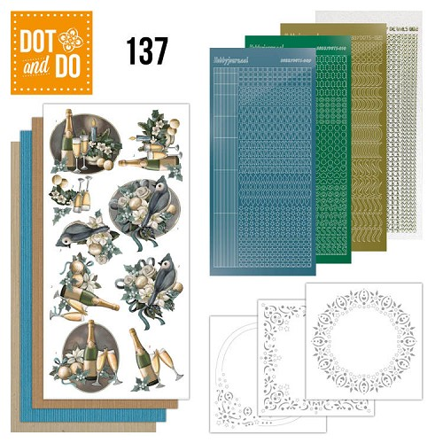 Dot & Do Hobbydots Pakket - christmas wishes