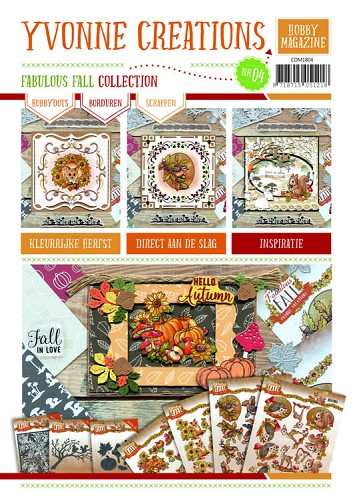 Hobby Magazine nr. 4 - Yvonne Creations - Fabulous Fall Collection