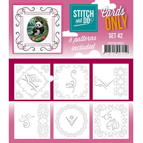 Stitch and Do Cards Only - set 42