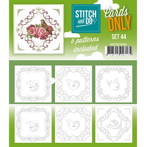 Stitch and Do Cards Only - set 44