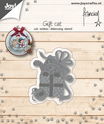 Joy Stencil - Franciens Katten - gift cat