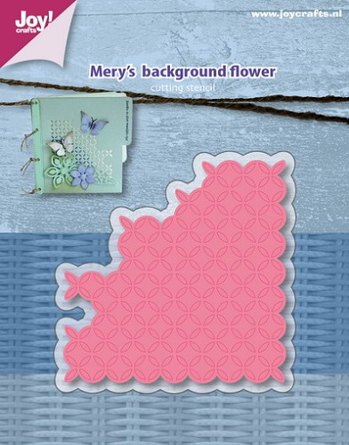 Joy Stencil - Mery`s background flower