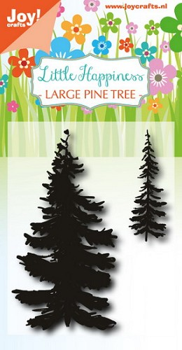 Joy Clearstamps - large pine tree
