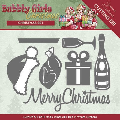 Yvonne Creations Stans - Bubbly Girls Christmas - christmas set