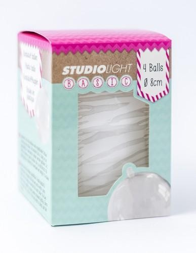 Studio Light Plastic Balls - 8 cm