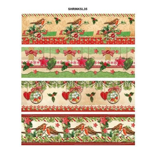 Studio Light Krimpfolie Sleeves - Classic Christmas