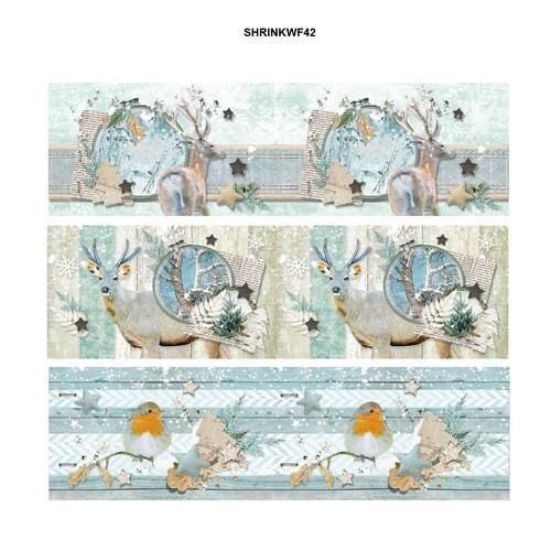 Studio Light Krimpfolie Sleeves - Winter Feelings