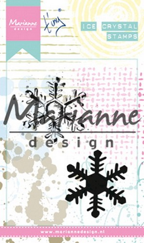 Marianne Design Cling Stamp - ice crystal