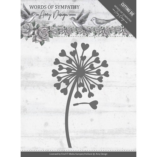 Amy Design Stans - Words of Symphathy - sympathy flower