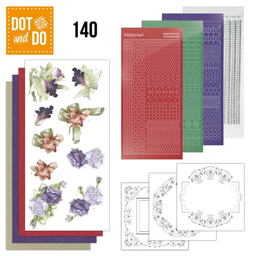 Dot & Do Hobbydots Pakket - winter flowers