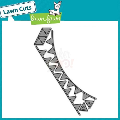 Lawn Fawn Stans - bunting borders