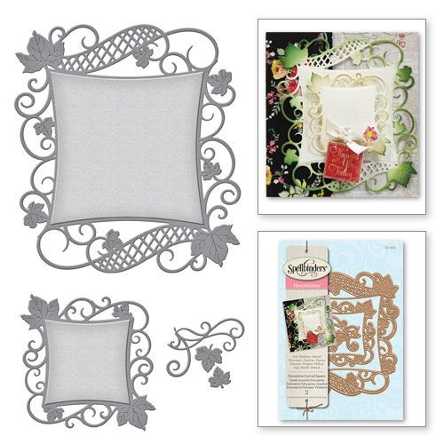 Spellbinders Nestabilities - decorative curved square
